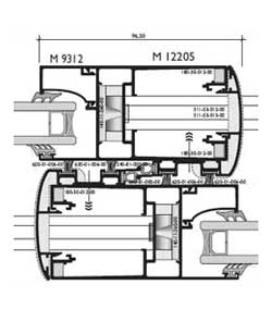 СИСТЕМА Alumil M12000 Premier