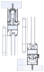 СИСТЕМА Alumil M9800 Accordion