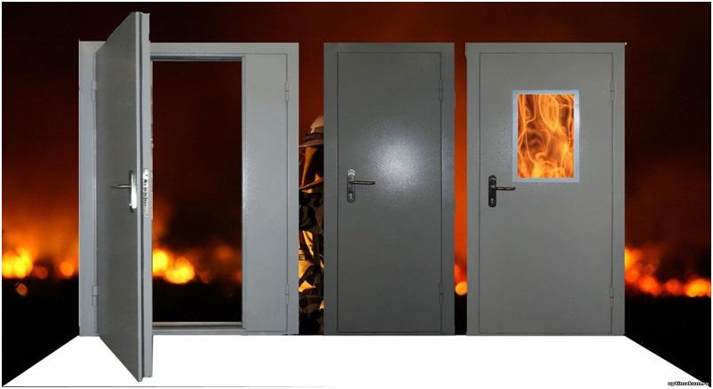 Противопожарные двери 1