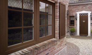 ламинированные окна 10