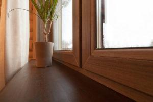 ламинированные окна 7